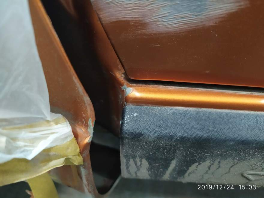 Фото кузовного ремонта Лада
