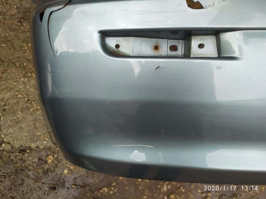 Фото повреждений бампера