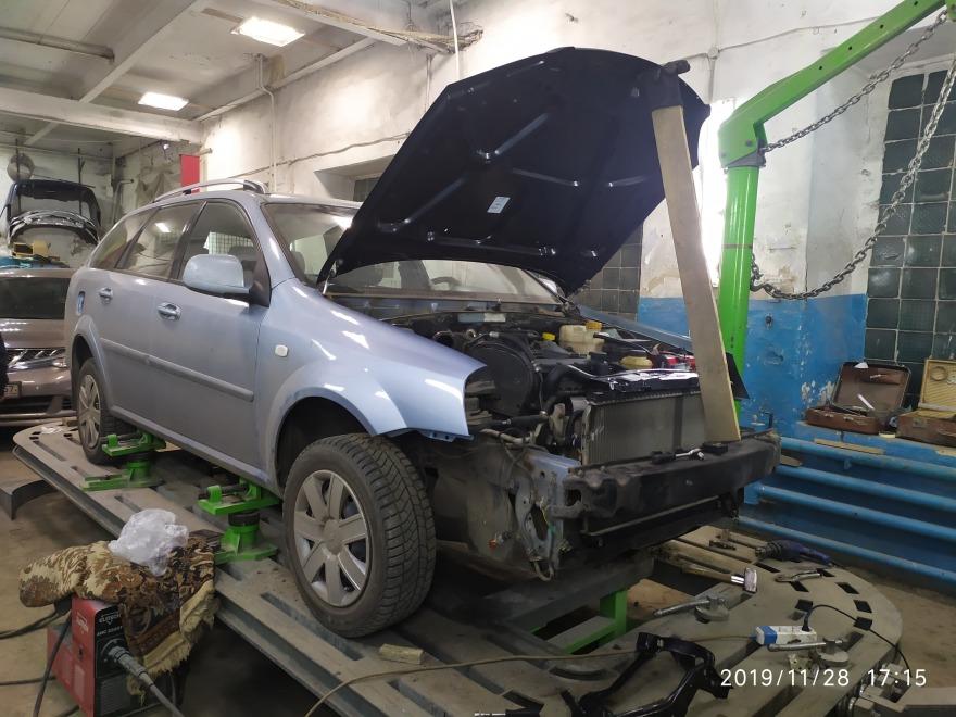 Фото ремонта кузова авто
