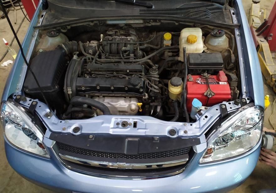 Фото восстановления решетки радиатора Chevrolet