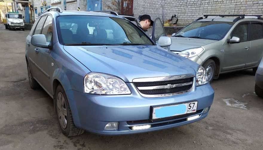 Фото результата кузовного ремонта Chevrolet